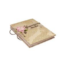 Блокнот для записи рецептов  «Кулинарный шик»
