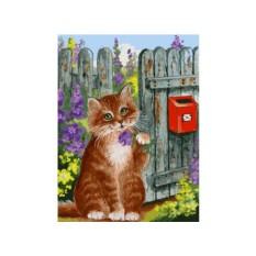 Картина по номерам «В ожидании письма»