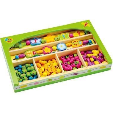 Детская логическая игрушка Бусинки