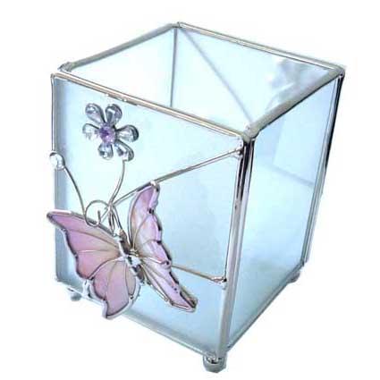 Подсвечник «Сиреневая бабочка»