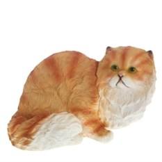 Декоративная садовая фигура Персидский рыжий кот