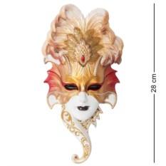 Венецианская маска Сова (цвет — золотисто-белый)