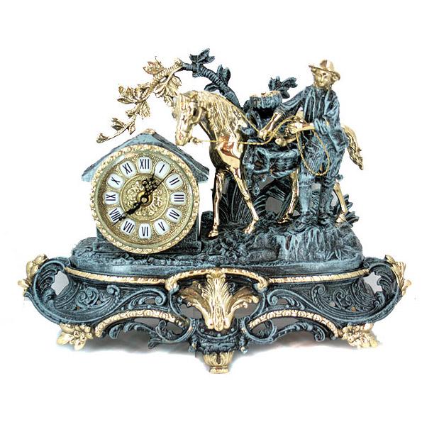 Часы каминные «Путник»