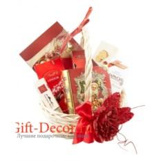 Подарочная корзина Красный павлин