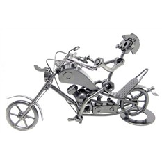 Размер:еталлическая фигурка Мотоцикл-1