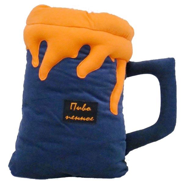 Подушка «Кружка пива»