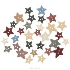Пуговицы декоративные Dress It Up Одинокая звезда