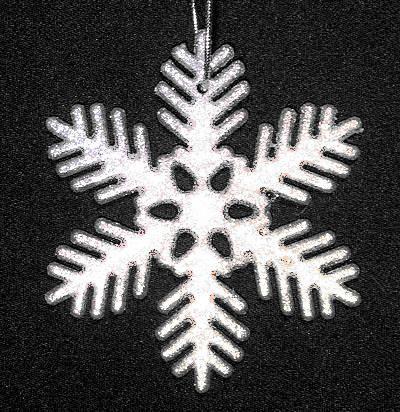 Снежинка «Шишка»