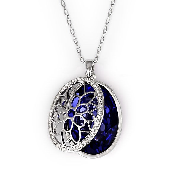 Кулон с кристаллами Swarovski Анна
