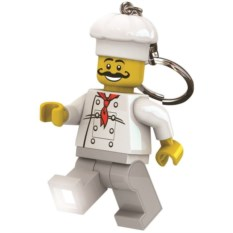 Брелок-фонарик для ключей Lego Classic Chef