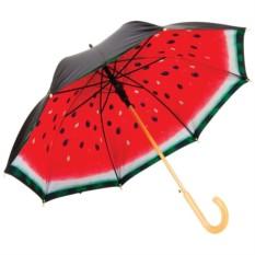 Женский зонт-трость Арбуз