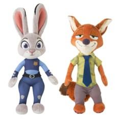 Набор игрушек Зверополис: Ник Уайлд и Джуди Хопс