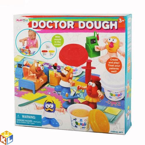 Набор с пластилином Playgo Доктор