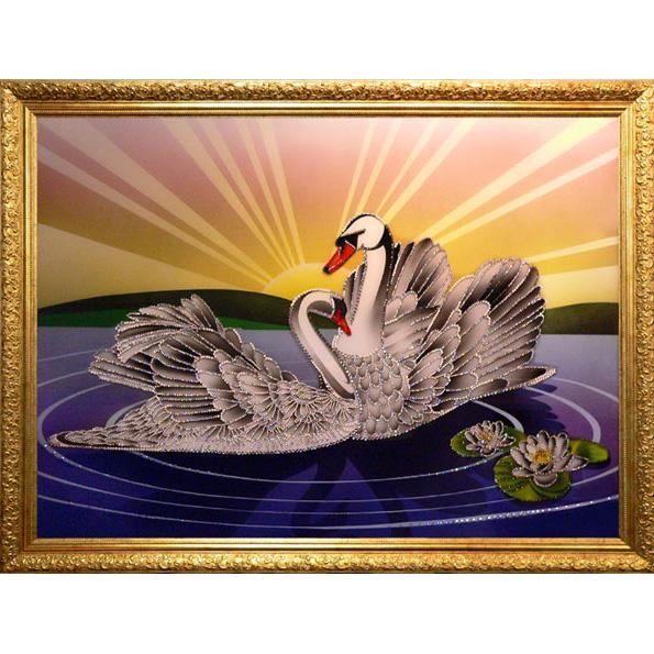 Картина Swarovsky «Рассвет»