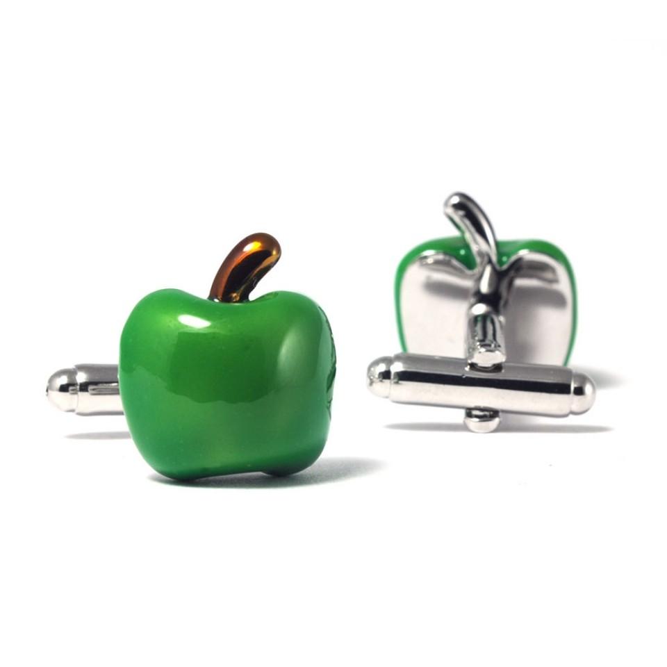 Запонки (яблоко)
