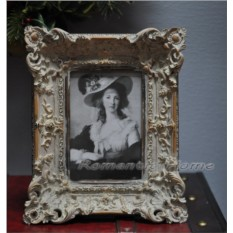 Винтажная рамка для фото Blanc в стиле шебби-шик
