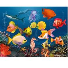 Пазл Подводный мир с 3D очками