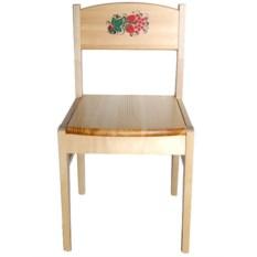 Детский стул с росписью Кроха