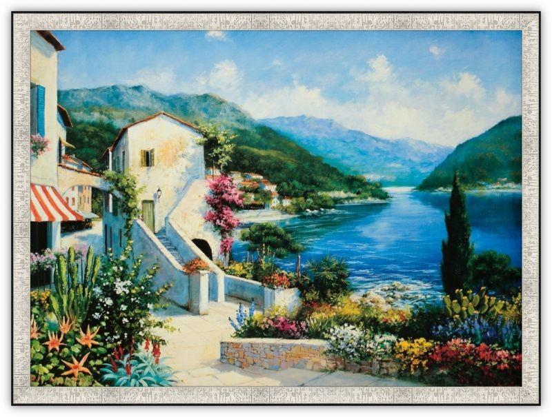 Постер Итальянская Ривьера (южный город) (Е. Мартин)