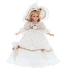 Кукла из фарфора Анжелика