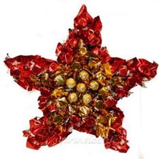 Букет из конфет Звезда
