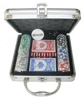 Набор для покера в кейсе 100  фишек