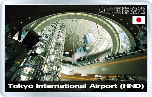 Магнит: Аэропорт Токио (Япония). Код HND.