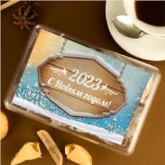 Печенье с предсказаниями С Новым Годом 8 шт.