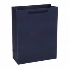 Пакет Крафт синего цвета