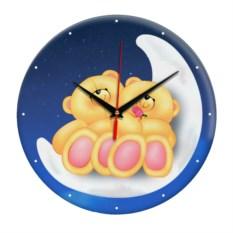 Настенные часы Любовь на луне