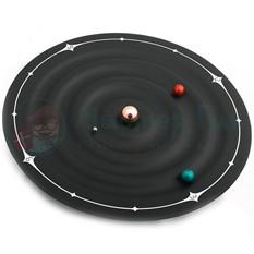 Часы с магнитными стрелками Галактика