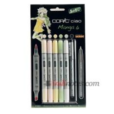 Набор маркеров 6 цветов Copic Ciao