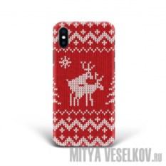 Чехол для iPhone X Скандинавская любовь
