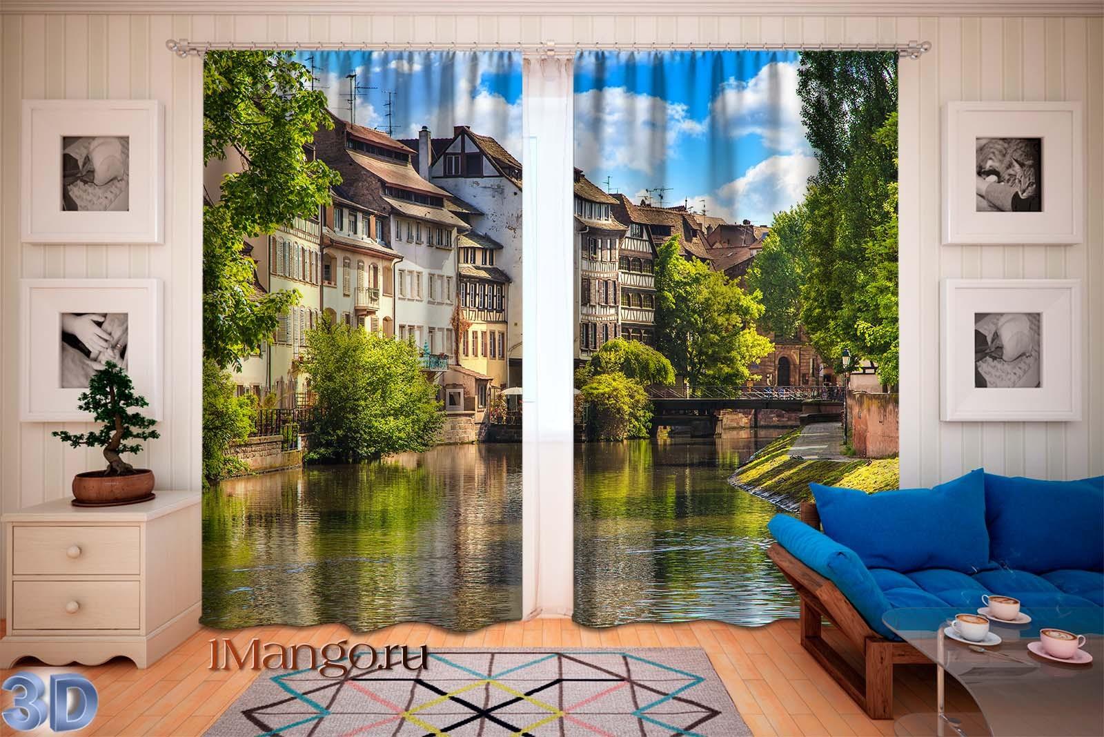 Фотошторы Маленькая Франция