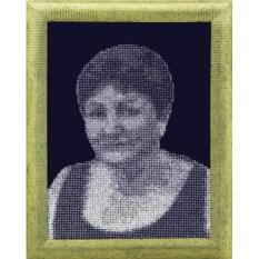 Картина с кристаллами Портрет 19
