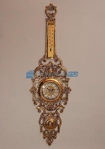 Часы из бронзы настенные Коста Дорада