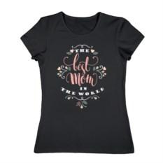 Женская футболка The best mom in the world