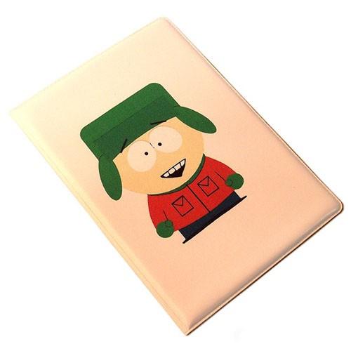 Обложка для паспорта South park, Кайл