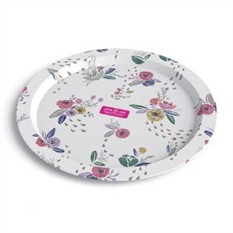 Дизайнерская тарелка Love & Life Pink