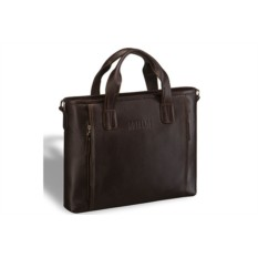 Деловая коричневая сумка Brialdi Mestre