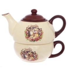Чайник с чашкой Собачка
