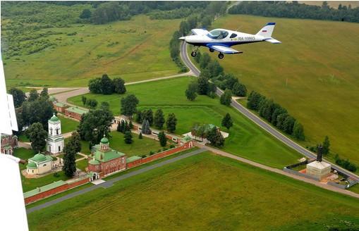 Пилотаж на Як-52 (20 минут)