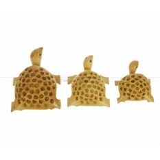 Набор статуэток Черепахи с повернутой головой