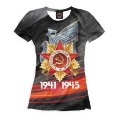 Женская футболка Print Bar 9 Мая
