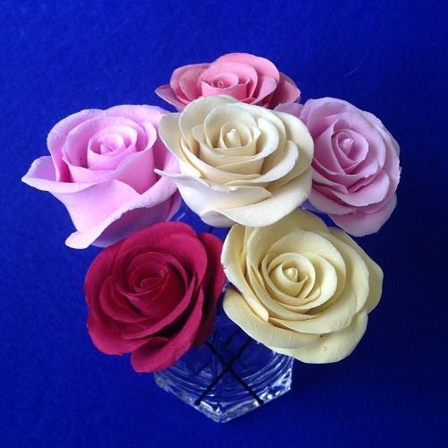 Шпильки Розовое настроение