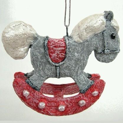 Авторская елочная игрушка «Лошадка»