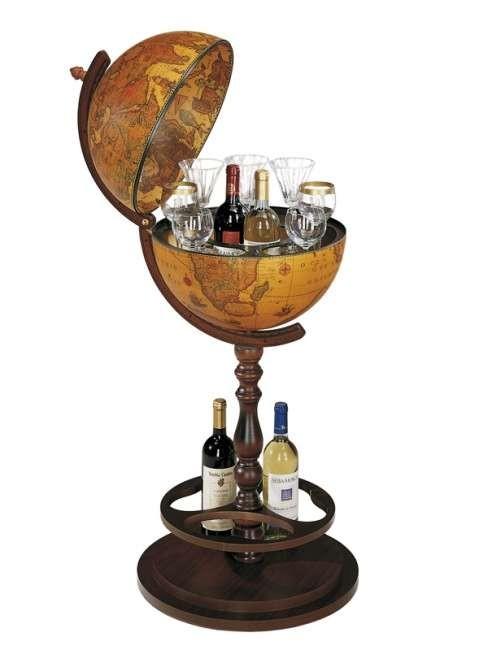Глобус-бар на ножке Zoffoli