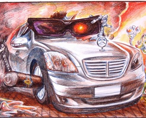«Шарж на авто»