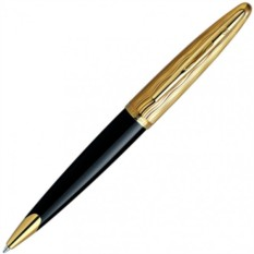 Шариковая ручка Waterman Carene Essential Black and Gold GT