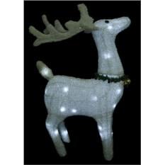 Новогодняя фигура Северный олень с подсветкой